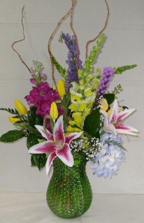 Pastel Dimple Vase Design