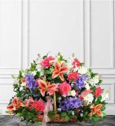 Pastel Farewell   Sympathy Basket