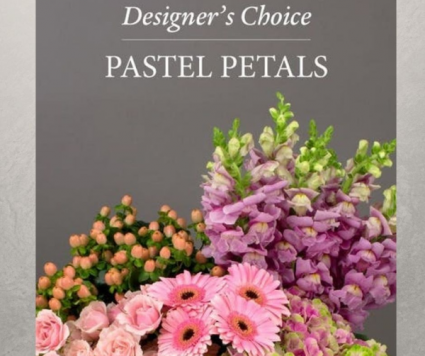 Pastel Flowers Designer's Choice