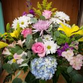 Pastel Fresh Cut Vase