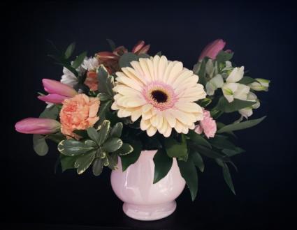 Pastel Garden Beauty Flower Arrangement