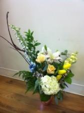 Pastel Garden keepsake vase
