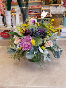 Pastel Garden vase