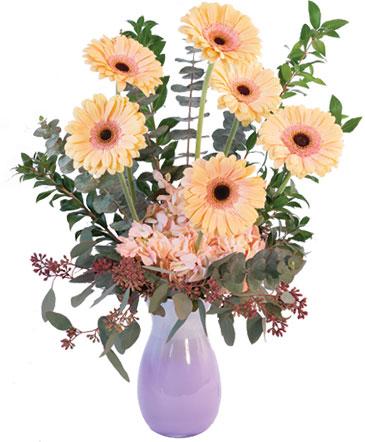 Pastel Gerberas Floral Arrangement