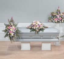 Pastel Grouping Closed Casket Grouping