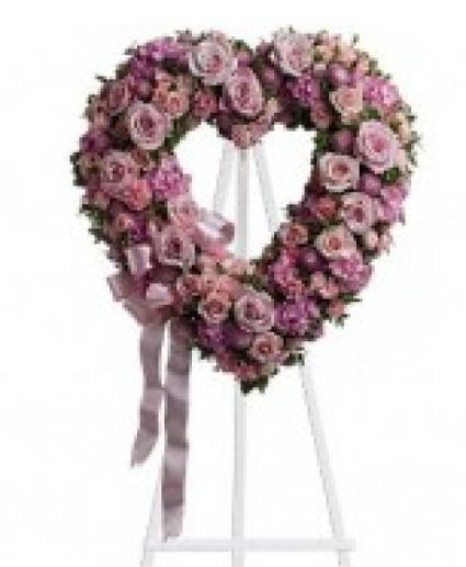 Pastel Heart Heart wreath