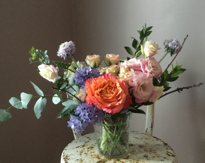 Pastel  Hobnail Vase in Toronto, ON | BOTANY FLORAL STUDIO