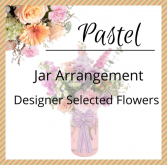 Pastel Jar Arrangement
