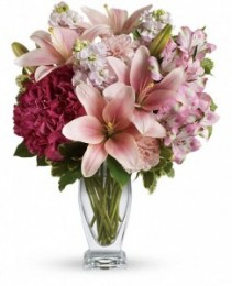 Pastel Love Vase Arrangment