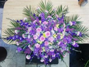 Pastel Memories Casket Spray in Paragould, AR | BALLARD'S FLOWERS INC