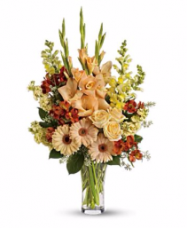 Pastel Memories Vase Arrangement