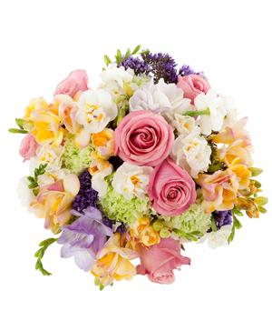 Pastel Mix Wedding Bridal Bouquet in Westlake, OH | D J's Gift & Garden Boutique