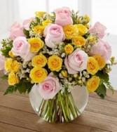 PASTEL PARADISE Vase Arrangement