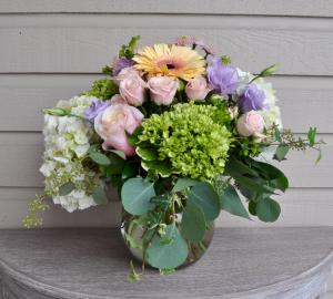 Pastel Passion  Vase Arrangement in Surrey, BC | Hunters Garden Centre And Flower Shop