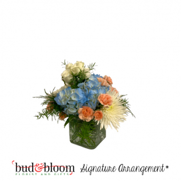 Pastel Pastime Bud & Bloom Signature Arrangement