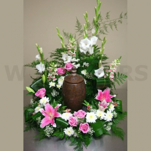 Pastel Peace Arrangement in Winston Salem, NC | RAE'S NORTH POINT FLORIST INC.
