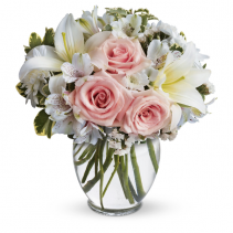 Pastel perfect  pastel shades ,roses,lilies