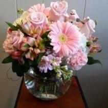Pastel Pink Arrangement