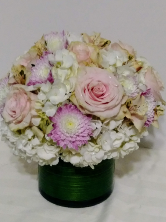 Pastel Pink Vase Arrangement