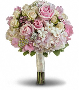 Pastel Pinks Bridesmaid bouquet