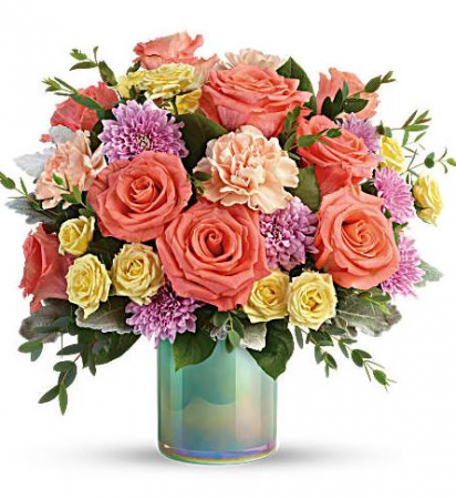 Pastel Shimmer Bouquet
