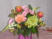 Pastel Spring  cube arrangement