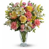 PASTEL SPRING Vase Arrangement