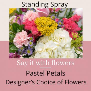 Pastel Standing Spray