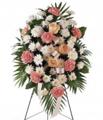 PASTEL STANDING SPRAY Funeral