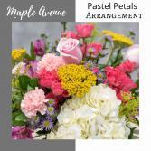 Vase-Pastel Flowers