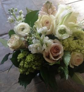 Pastel Garden Vase Arrangement