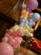 Pastels Balloon Garland  Balloon Garland