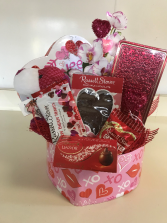 Patchwork Puppy Chocolate Heart Box Holiday Gift