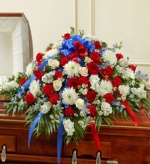 Patriot Tribute Casket Cover