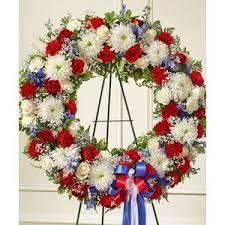 Patriot Wreath Floral Arrangement in Lexington, NC   RAE'S NORTH POINT FLORIST INC.