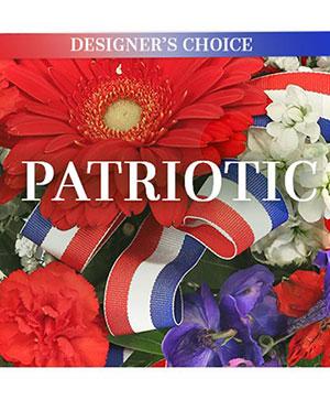 Patriotic Florals Designer's Choice in Brenham, TX | BRENHAM WILDFLOWERS FLORIST