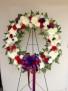 Patriotic  Funeral Wreath Funeral Wrath