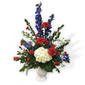 Patriotic Honor EO-8 in Rossville, GA | Ensign The Florist