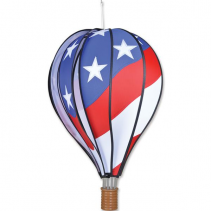 Patriotic Hot Air Balloon Spinner