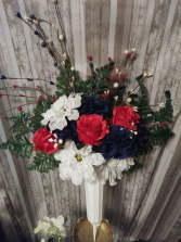 Patriotic Memories Cemetery Cone