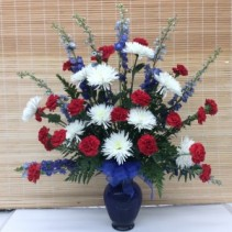 Patriotic Memories  Funeral arrangement