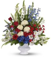 Patriotic Spirit Basket SY169