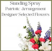 Patriotic Standing Spray