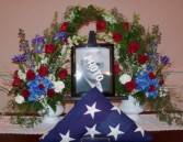 Patriotic Tribute 8x10 photo frame or flag not included