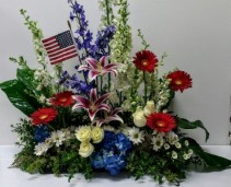 Patriotic Tribute Arrangement