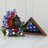 Patriotic Tribute Arrangement SYMPATHY