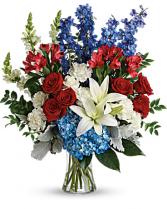 Patriotic Tribute Bouquet