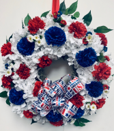 Patriotic Wreath Gift Item