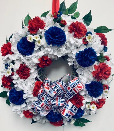 Patriotic Wreath Gift Item
