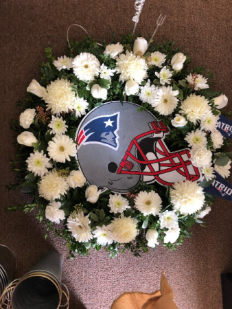 Patriots Wreath Funeral Wreath